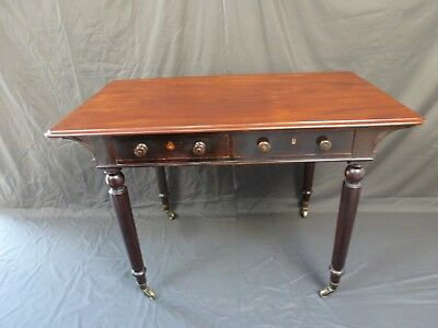 Antique Vintage Victorian Mahogany Side Console Table with lovely Patina
