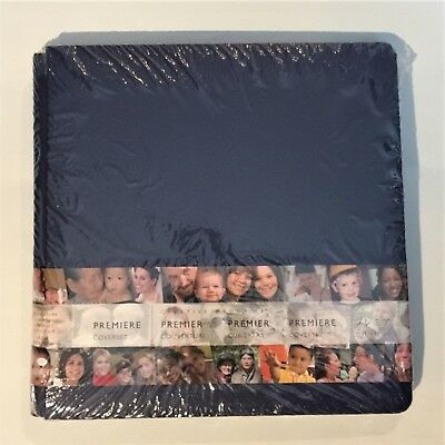 NIP Creative Memories 12x12 Old Size Dark Blue Navy Scrapbook Album Coverset
