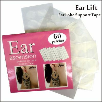 Ear Lift Lobe Support Tape Invisible Ear Patches Reliever From Heavy Earrings