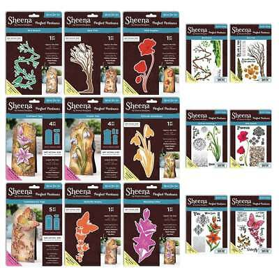 Sheena Douglass Perfect Partners TAGS Range of Multi-Media Dies / Rubber Stamps