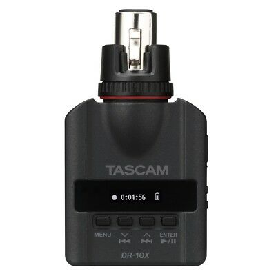 Tascam DR-10X Clip-On Micro Linear PCM Recorder XLR Connection News Reporter