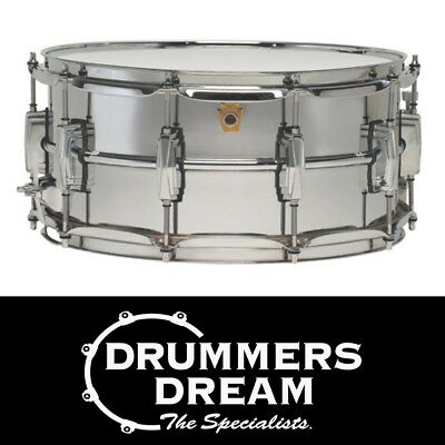 """Ludwig Supraphonic 14"""" x 6.5"""" Snare Drum Smooth Shell"""