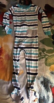 Just One You by Carters Whale Footed PJs, 4T