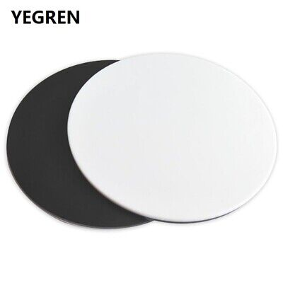 Stereo Microscope White Black Board 125 mm Diameter Round Plate Working Stage