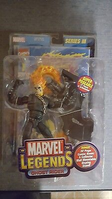 Marvel Legends Series III 3 Ghost Rider 2002 New in Package