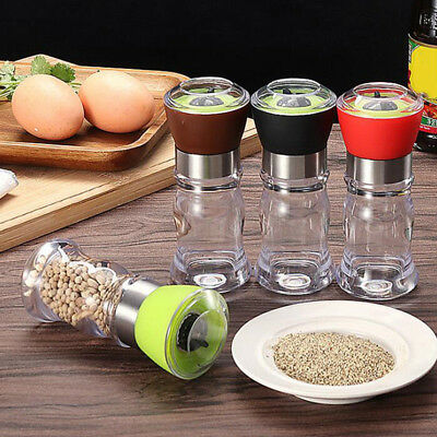 1Pc Stainless Steel Spice Sugar Salt Pepper Herb Shaker BBQ Kitchen Tools