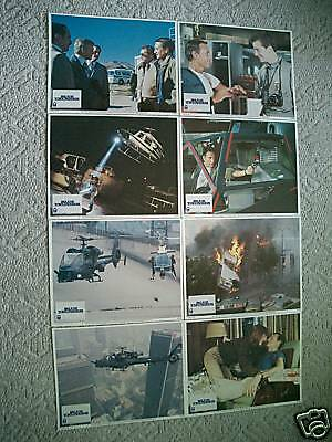 BLUE THUNDER~11X14 US LOBBY CARD SET of 8~1983~MINT~ROY SCHEIDER & M MCDOWELL