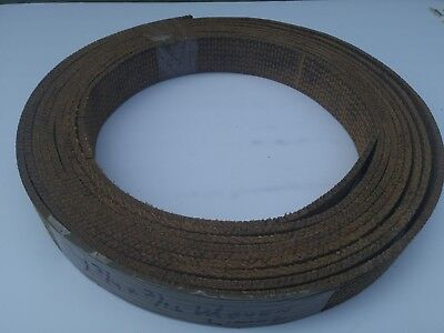 """1 3/4"""" wide x 3/16"""" thick Woven Brake Lining ~ Sold by The Foot"""