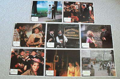 THE MISSIONARY~1982~11X14  LOBBY CARD SET of  8~ORIGINAL~MICHAEL PALIN