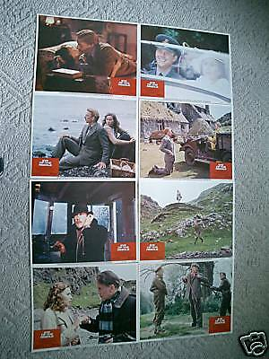 Eye Of The Needle~11X14 Us Lobby Card Set - 8~1981~Mint~Donald Sutherland