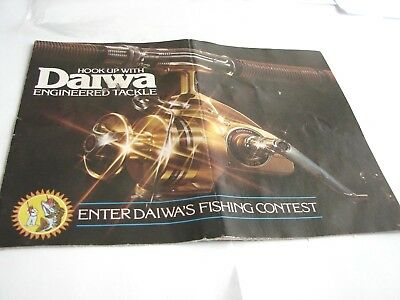 Daiwa Skirted Spool Silver Gold SS Millionaire Minicast Fishing Reel Rods Book