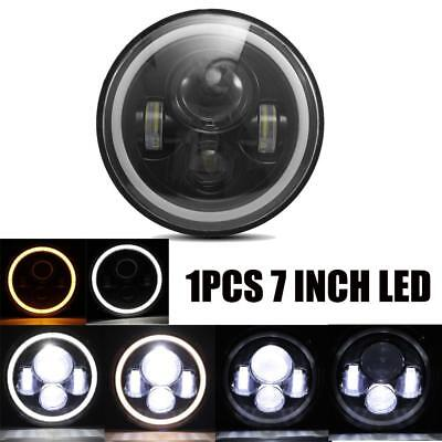 7 Inch LED Headlight Lamp Projector Daymaker Motorcycle For Harley Jeep Wrangler
