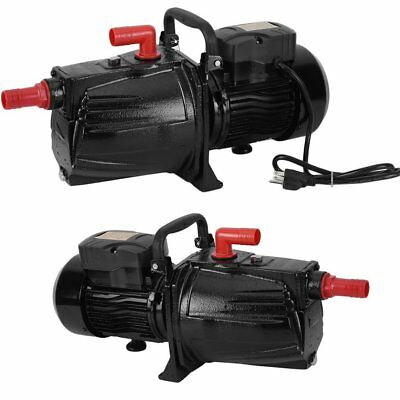 Shallow or Deep Well Jet Pump 2.0 HP 20GMP Convertible 110 Voltage Water Pump HP