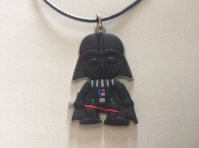 1 PVC Darth Vader Necklace FREE Shipping