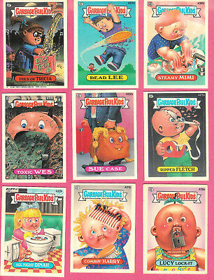 1987 Topps Garbage Pail Kids Cards (Appx 110 cards) #11