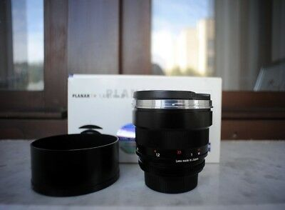 New ZEISS Planar T* 85mm f/1.4 ZF.2 Lens for Nikon F-Mount Cameras