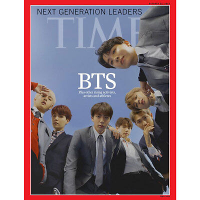 BTS TIME Weekly Asian Edition Coverman October 2018 Bangtan Boys With Track Num
