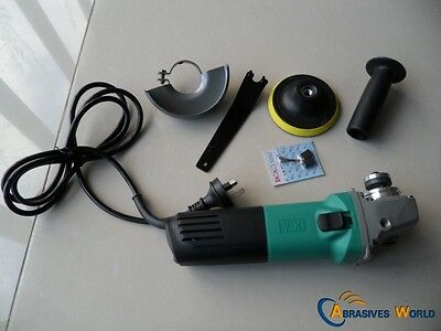 """1020W DCA 100mm (4"""") X 16mm Variable Speed Angle Grinder For Grinding, Polishing"""