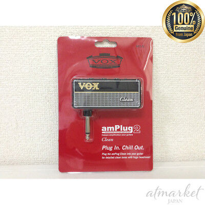 NEW VOX Headphone / Guitar / Amplifier Unplug 2 amPlug 2 Clean AP2CL from JAPAN