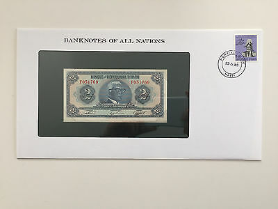Banknotes of All Nations – Haiti 2 gourdes UNC