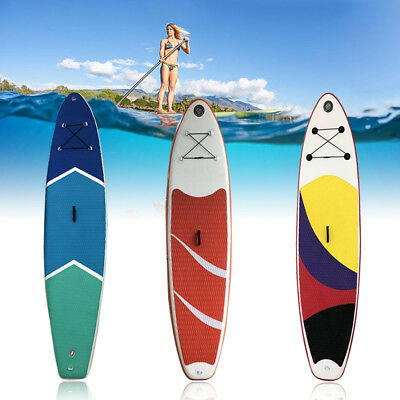 Inflatable Stand Up Paddle Board SUP Pagaie 3m + Sac à Dos + Pompe Haute Nouveau
