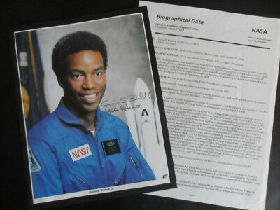 NASA Signed Astronaut GUION S BLUFORD Jr