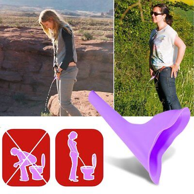 Portable Women Female Urinal Stand Up Pee Outdoor Travel Urination Device