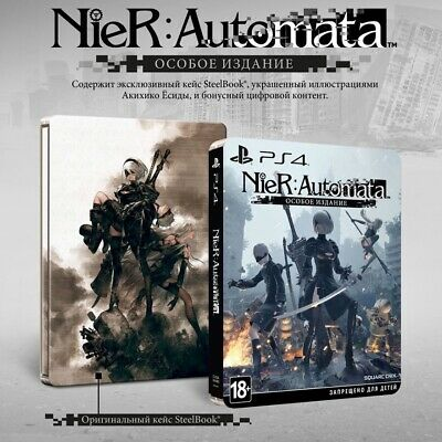 Nier Automata - Limited Edition PS4 /w Steelbook (Rare, New, Sealed)