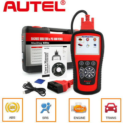 Autel MD802 OBD2 Auto Diagnostic Tool Code Reader ABS SRS EPB Airbag + DS Model