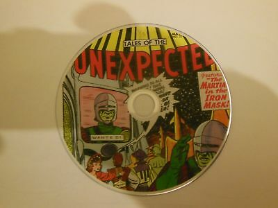TALES OF THE UNEXPECTED COMICS on DVD