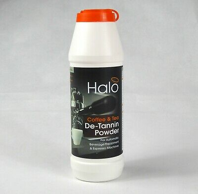 HALO Coffee Machine Cleaner Powder & Stain Remover - 24 x 750g Tub