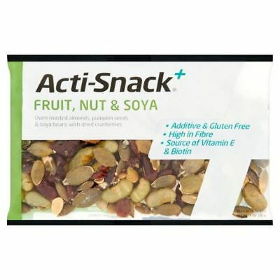 6x Acti-Snack Fruit, Nut & Soya 40g