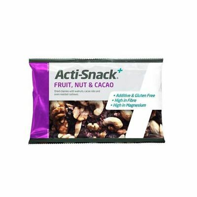 6x Acti Snack Fruit Nut & Cacao 40g