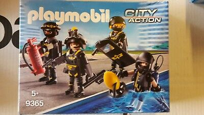 Playmobil SEK TEAM CITY ACTION Playmobil 9365 NEU