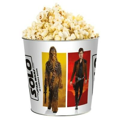 SOLO A STAR WARS STORY Seau en Metal bucket (NEUF/NEW) Objet collector item!