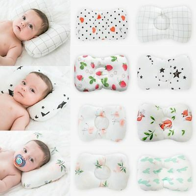 Newborn Infant Pillow Baby Anti Flat Head Syndrome For Crib Cot Bed Neck Support