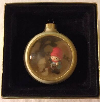 Vintage Hallmark Tree-Trimmer Collection Drummer Boy Diorama Christmas Ornament