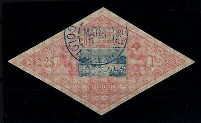 Bxp86099/ French Somali Coast / Maury # 19 Obl / Used / Certificate 1500 €