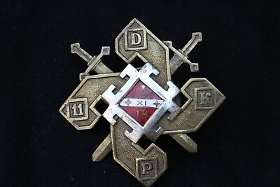 Latvian military badge Dobele Infantry 1919 Latvia Latvija