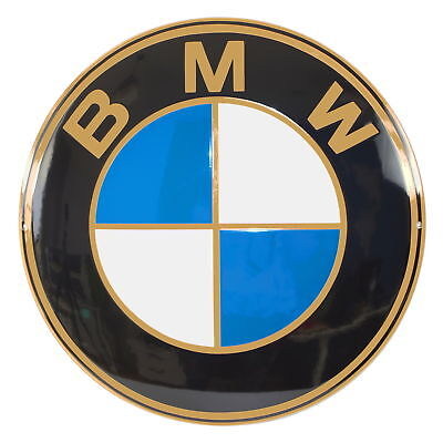 Enamel plaque BMW 20'' 50 cm logo from the 20s collectable sign plate