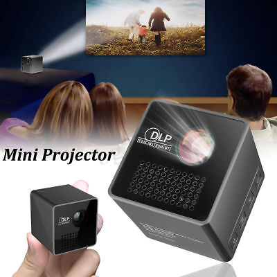 HD 1080P LED Mini Micro Portable Projector Home Theater Cinema WIFI Wireless
