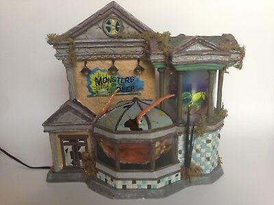 Department 56 Limited Edition Monsters of the Deep Halloween Snow Village 2005