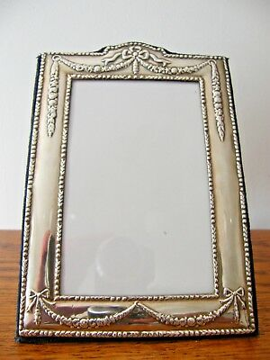"HALLMARKED LONDON 1994 SOLID SILVER PHOTO PICTURE FRAME 7.5"" x 5.5"""