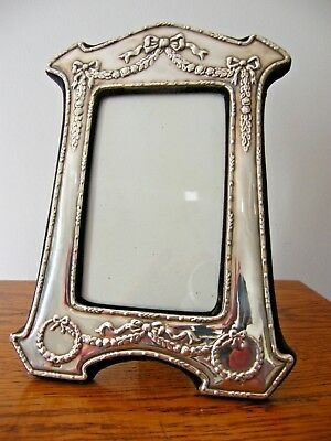 "HALLMARKED LONDON 1989 SOLID SILVER PHOTO PICTURE FRAME 9"" x 6.25"""