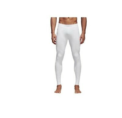 34af8f3b52 Men's Adidas Training Alphaskin Tech Long Tights White Color CD7157