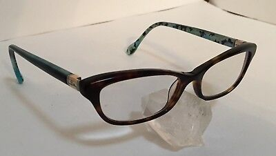 d105d7c6f5d7 LILLY PULITZER WOMEN S Eyeglasses Blythe IN Indigo Tortoise Optical ...