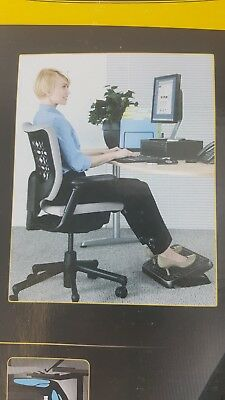 Fellowes Standard Footrest Supports Feet Increase Comfort Foot Rest Work
