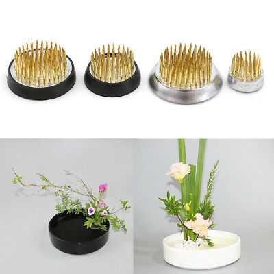 Fashion Round Ikebana Flower Frog Gasket Art Fixed Arranging Tools Collection FG