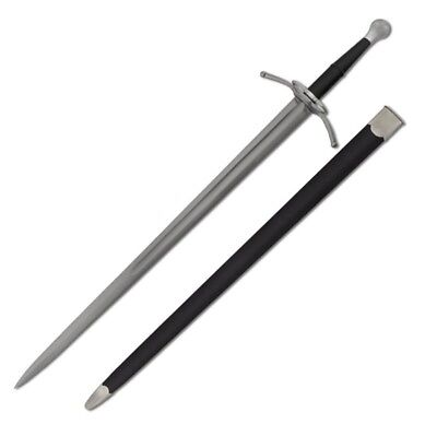 Hutton Duelling Sabre with Scabbard and a Hand Forged High Carbon Steel Blade