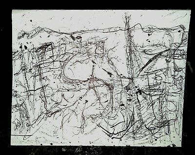 'View from the window' Original ink drawing By artist jimmy rice
